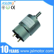 small electric 6v 12v 24v purel metal DIY hand motor dc gear motor