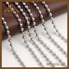 mass sale 3.5mm metal ball chain