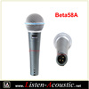 Professional Beta 58A Wired Dynamic Moving Coil Microphone