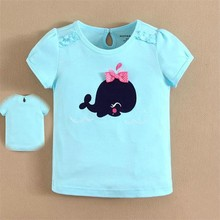 China Supplier Wholesale mom and bab Children T-shirts with Cotton(15080)