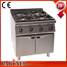 Manufacturer Commercial Catering OEM CE NSF 304 Stainless Steel Gas Stove 3 Burner For Fast-Food Restaurant