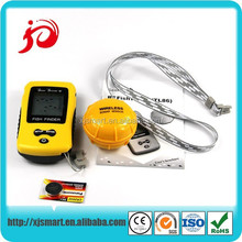 Portable waterproof remote control fish finder with LCD display screen