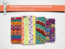 Colorful Draw Printing With PC New arrival Eco For Iphone 6 Case Clear