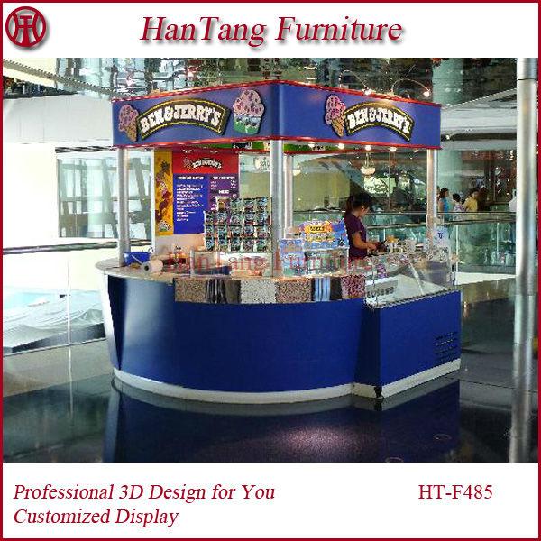 Outdoor food kiosk design furniture for fast food crepe for Garden kiosk designs