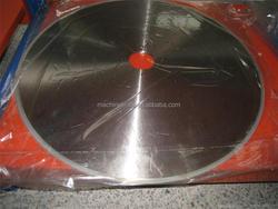 Toilet Paper Log Saw Blade /Yuen Foong Yu Supplier