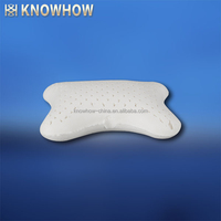 Cheap Price Natural Latex Bolster Neck Pillow Use in Car