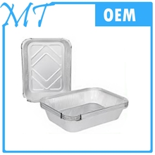 High-Quality Disposable Aluminum Foil Food Tray With Lid