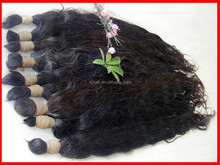 High quality best design nice virgin no shedding no tangle of hair brazilian hair natural remy cabelo bulk silky natural weave