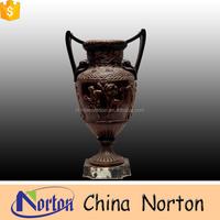 roman style garden planters bronze metal flower pots NTBF-FL139S