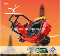 Oil drilling rig equipment tools API ZQ127-25 drill pipe tongs