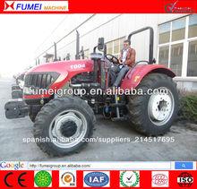 venta caliente 100hp tractor con alta calidad de neumáticos de tractores