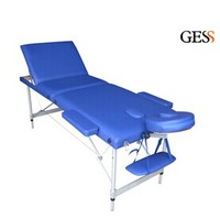 GESS-2523 beauty facial bed wholesale&aluminium portable adjustable massage table