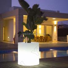 led material plastic furniture led flower plastic pot/electronic products flower pot