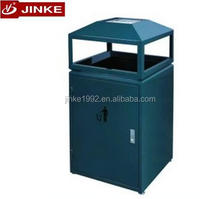 JINKE Stainless Steel Recycle Commercial Recycle Bin Color Code
