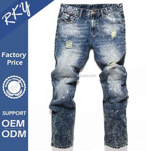 Damaged Jeans For Men Ripped Jeans Fashion Brand Jeans Men Pant BTDL7059
