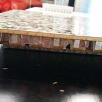 Aluminium honeycomb panel decoration, decorative exterior metal siding panel