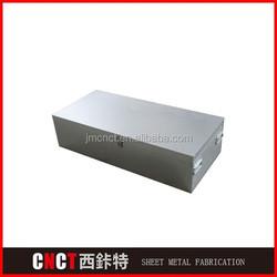 precision custom cnc aluminum box