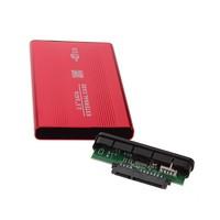 USB 2.0 2.5 Inch SATA Enclosure External Case For Notebook Laptop Second Hand External Hard Disk Drive Case