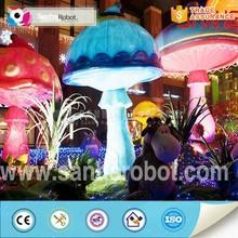 Fiberglass mushroom outdoor garden decor