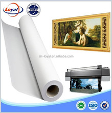 Water proof Polyester Canvas for oil painting/wall decorative