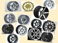 14inch 15inch 16inch 18inch alloy wheels high quality car rims/mag wheels