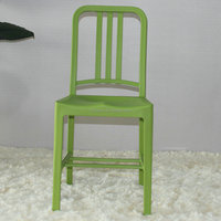 Replica Navy Chair plastic out door chair