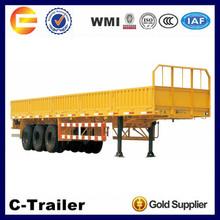 China High Quality 3 Axles 40Tons Fiberglass Cargo Trailer