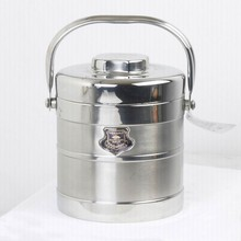 Portable 2-3 Layers Stainless Steel Lunch Box / Food Carrier