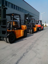 6 ton diesel new chinese light trucks