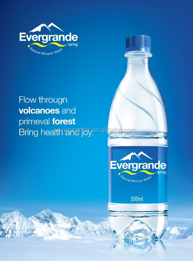 500ml Evergrande Spring Mineral Water