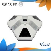 Alta definición 360 Degree 5.0MP ojo de pez cámara panorámica con control PTZ Zoom y funciones