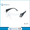 2015 New design clear anti fog safety glasses good price plastic safety glasses nice safety glasses