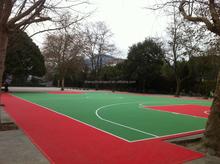 ZSfloor interlocking sport flooring basketball