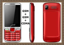 CDMA 800mhz 1900mhz G+G+C 3 SIM cards cheap mobile phones