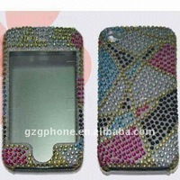 Hard crystal protect case for apple iphone 4