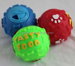 Best Selling Suppliers Natural Rubber Dog Snack Ball