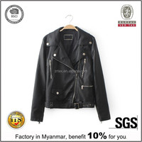 Cheap leather jackets, customized clothing china