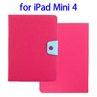 Alibaba Trade Assurance Nice Buckle Leather for iPad Mini 4 Leather Case