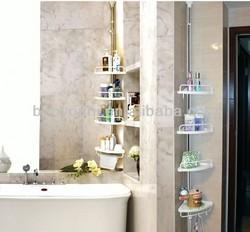 BAOYOUNI baby bath rack vertical racks storage quick easy shelf rack DQ-601D