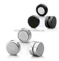 high quality piercing stainless steel stud magnetic earrings for boys