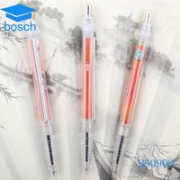 Stationery items retractable banner pens for school