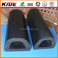 d shaped rubber gasket rubber wall bumpers