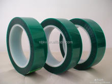 High temperature Green 3D Printer Tape, Polyester with Silicone Adhesive PET Tape