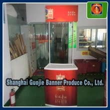 Promotion counter table,cheap advertising banner desk