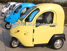Electric three wheel car