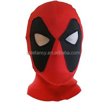 Deadpool Mask spider man mask Headwear halloween spiderman Mask QMAK-2095