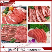 congelados de carne de corte de la máquina
