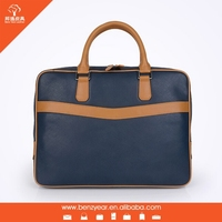 2015 Newest design leather briefcase wholesale briefcase bags for men