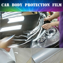 Transparent Car body paint protective film PVC material car body protection film manufacture
