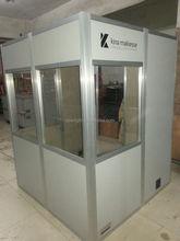 3 YEARS WARRANTY interpreter booth with flight case